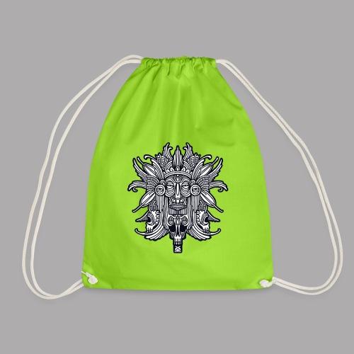 ritual black - Drawstring Bag