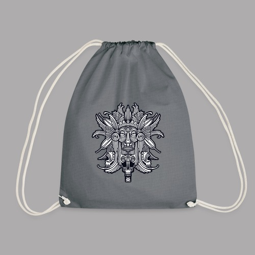 ritual black - Drawstring Bag
