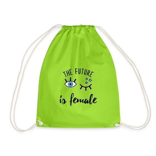 Le Futur est Féminin, humour,cadeau,fun,femme, - Sac de sport léger