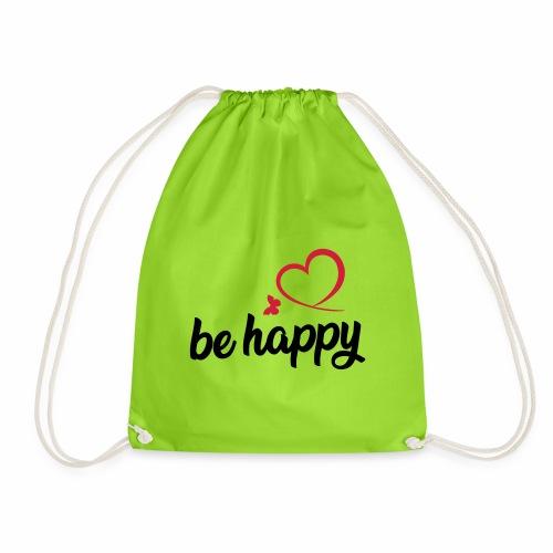 be happy - Turnbeutel
