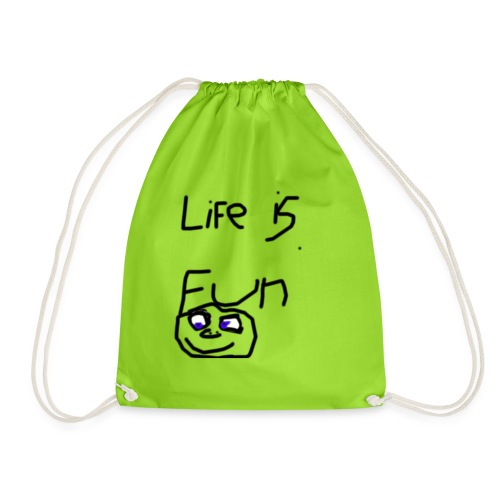Life Is Fun Merch - Drawstring Bag
