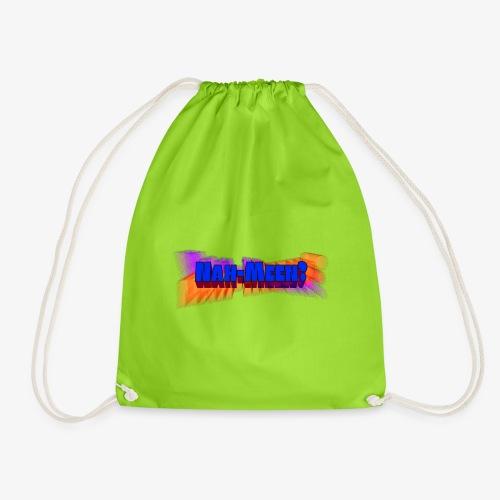 Nah meen blue - Drawstring Bag