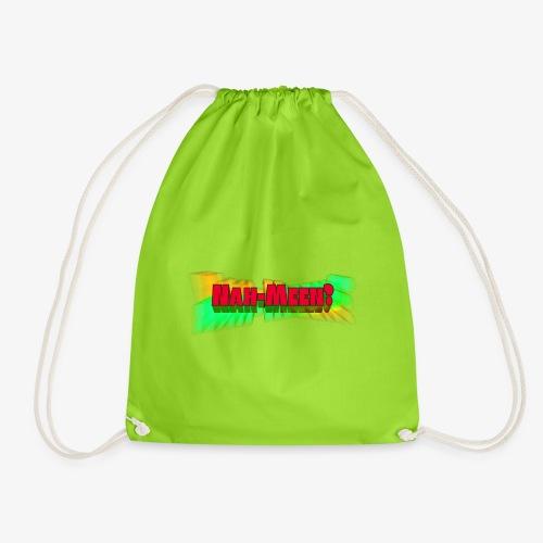 Nah meen red - Drawstring Bag
