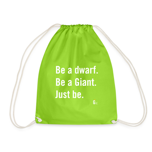 Be dG just be I - Drawstring Bag