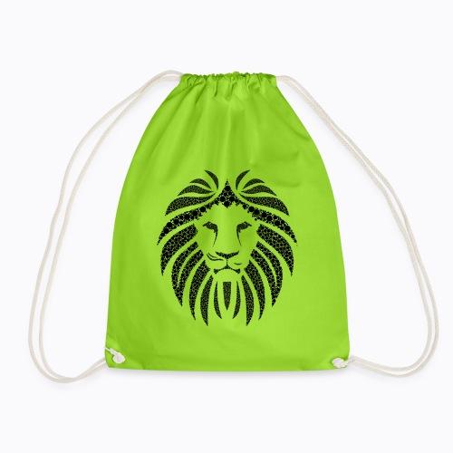 africa lion - Drawstring Bag