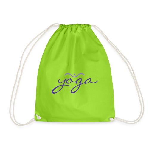 Yoga Balancing Typography And Emblem 3 - Turnbeutel