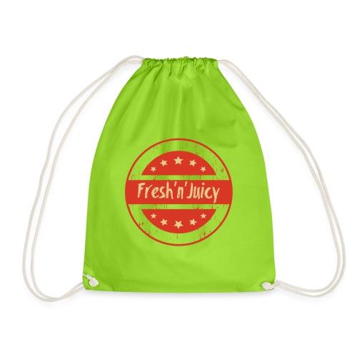 Fresh And Juicy - frisch und saftig. - Turnbeutel