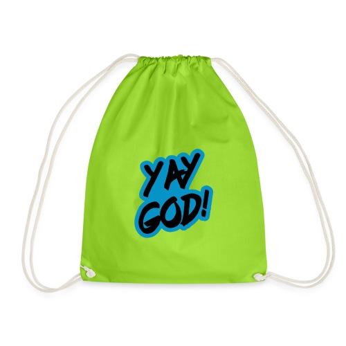 Yay God - Drawstring Bag