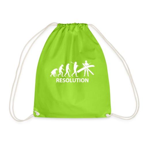 Resolution Evolution Army - Drawstring Bag