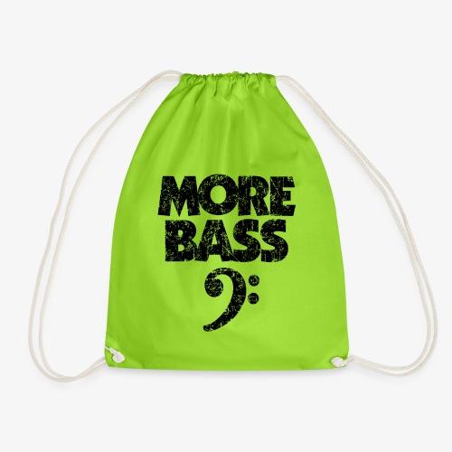 More Bass (Vintage/Schwarz) Bassisten - Turnbeutel