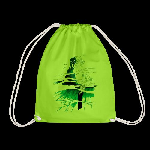 Ein Ort (grün) - Turnbeutel
