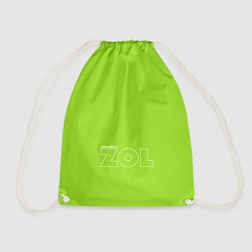 When people ZOL - Light trace - Drawstring Bag