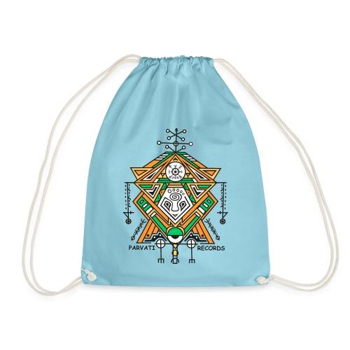 Parvati Records Vegvísir - Drawstring Bag