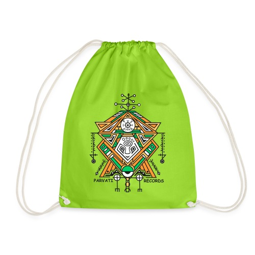 Parvati Records Vegvísir - Drawstring Bag