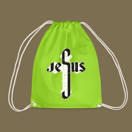 Jesus - Kreuz - Turnbeutel