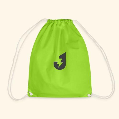 Large J Logo Print - Drawstring Bag