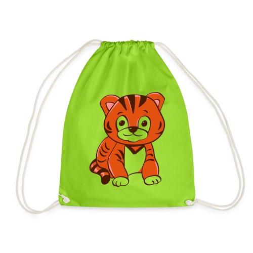 Bébé tigre orange et noir - Sac de sport léger