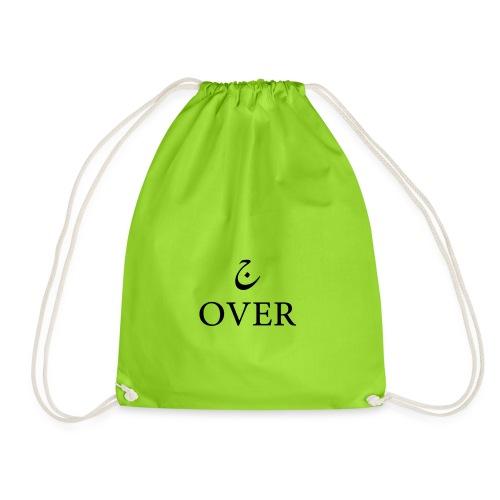 ج OVER - Drawstring Bag
