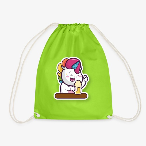 Funny Unicorn - Drawstring Bag