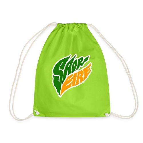 Saor Eire Free Ireland - Drawstring Bag