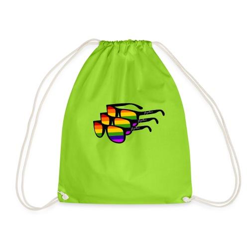 Rainbow Sunglass Gay Ban - Turnbeutel
