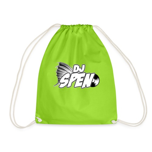 DJ Spen Long Logo - Drawstring Bag