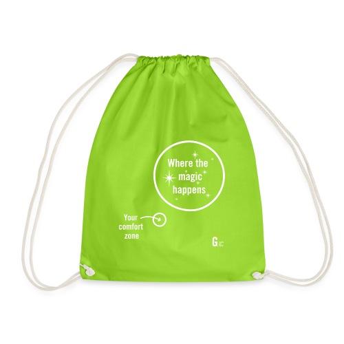 Where the magic happens I - Drawstring Bag