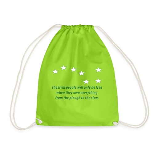 Starry Plough - Drawstring Bag