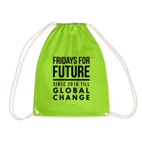 Fridays for Future till GlobalChange RescueTheBlue - Turnbeutel
