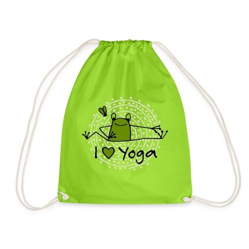 Frieda - I love Yoga - Turnbeutel