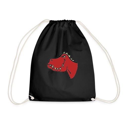 T Rex, Red Dragon - Drawstring Bag