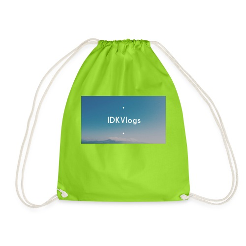 IDKVlogs Mug - Drawstring Bag