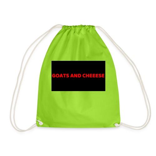 GOATS AND CHEESE - Drawstring Bag