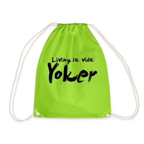 Living La Vida Yoker - Drawstring Bag