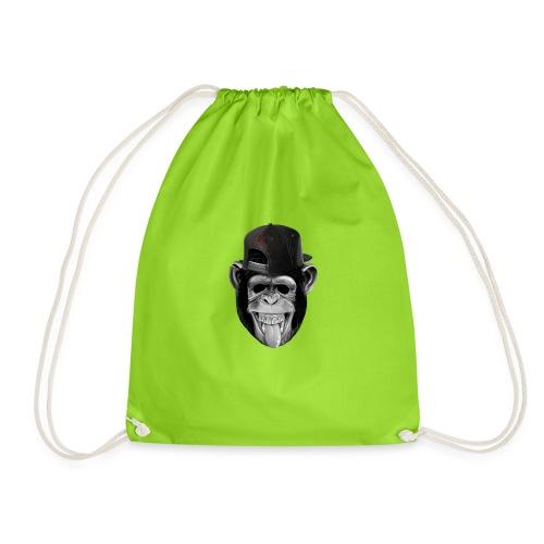 Logo Crazy Monkey - Sacca sportiva