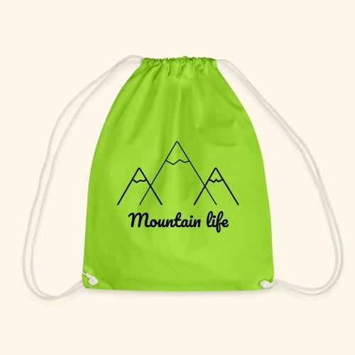 logo montagne 2 - Sac de sport léger