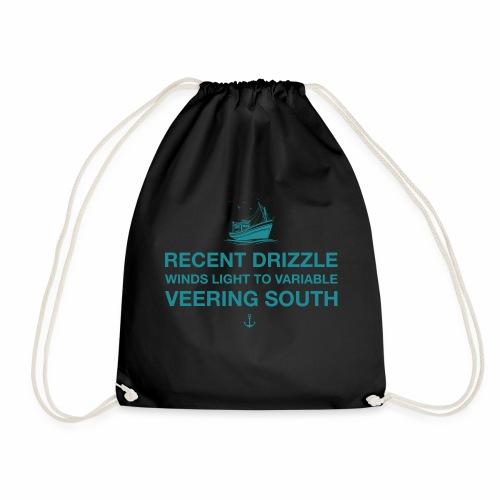 Recent Drizzle - Drawstring Bag