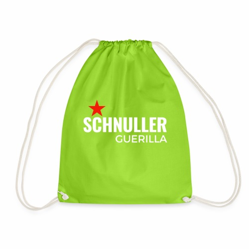 Schnuller Guerilla - Turnbeutel