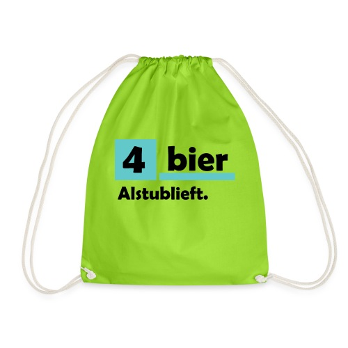 Vier-Bier-Aub - Gymtas