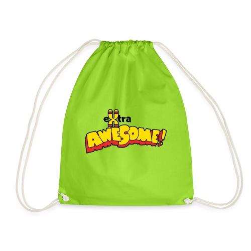 eXtra Awesome Down's Syndrome Tee - Drawstring Bag