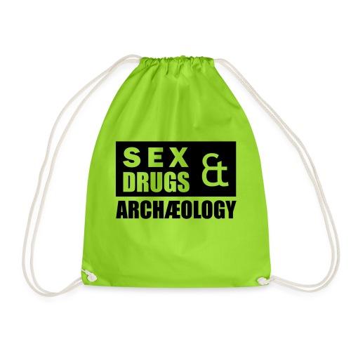 Sex Drugs Archaeology - Turnbeutel