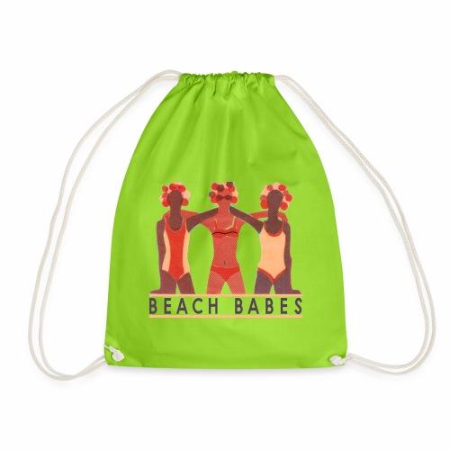 BEACH BABES - TEEEZ MADE - Drawstring Bag