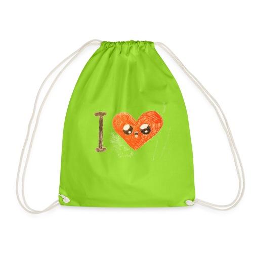 Kids for Kids: heart - Turnbeutel