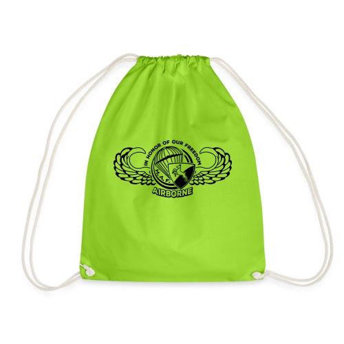 HAF tshirt back2015 - Drawstring Bag