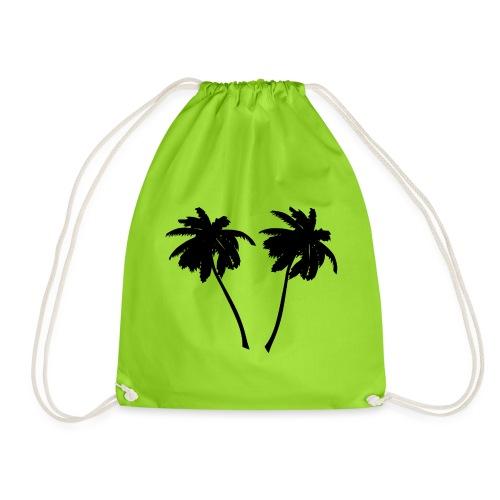Palm trees - Turnbeutel