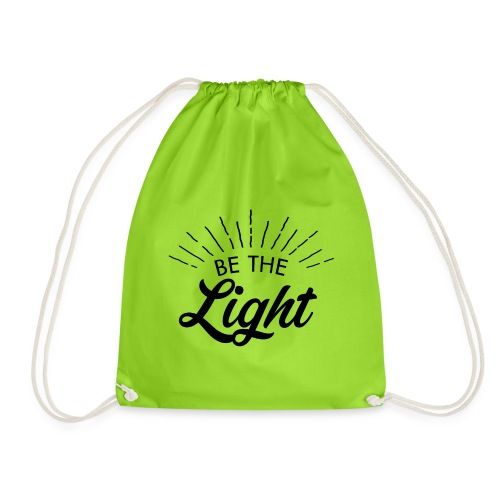 Be the light 6 N - Sacca sportiva