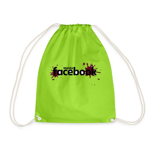 Musta Facebook -t-paita - Jumppakassi