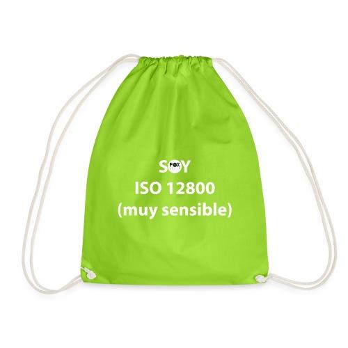 SOY ISO 12800 MUY SENSIBLE con logo - Mochila saco
