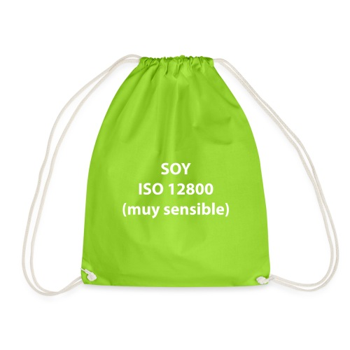 SOY ISO 12800 MUY SENSIBLE sin logo - Mochila saco