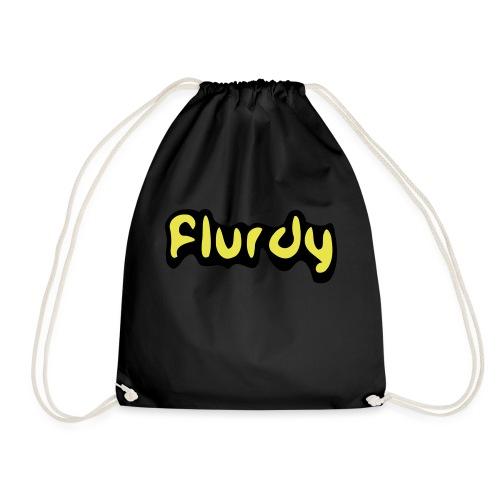 flurdy warped - Drawstring Bag